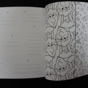 Disney kleuren voor volwassenen compact (Pixar) binnenkant 1