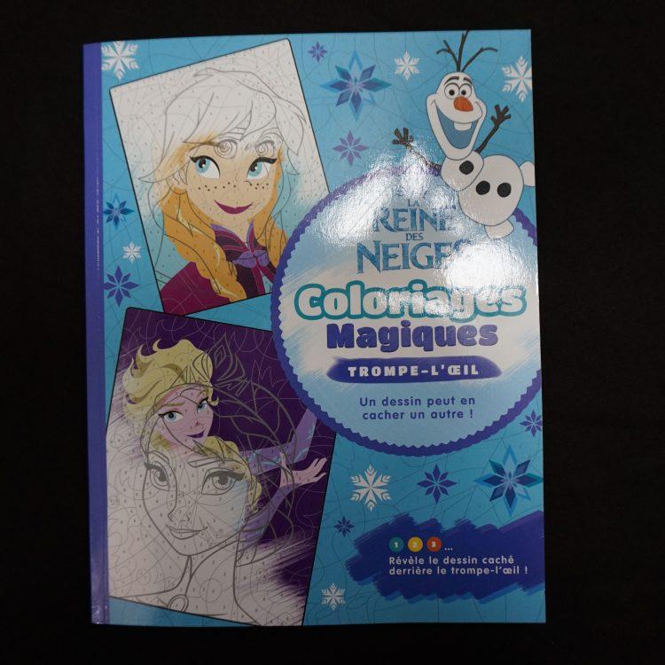 Disney kleuren op nummer Frozen (Junior Misleiding)
