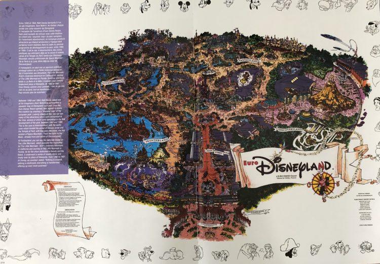 DLP souvenir plattegrond