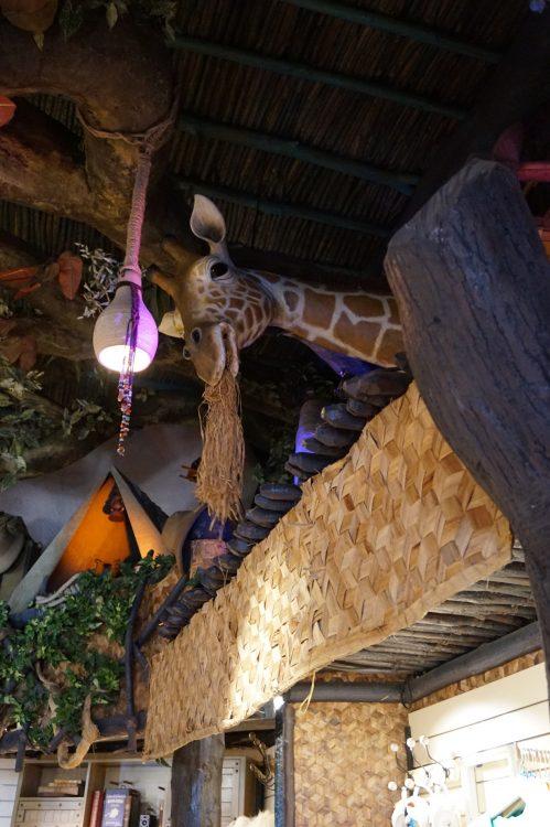 giraf disneyland paris