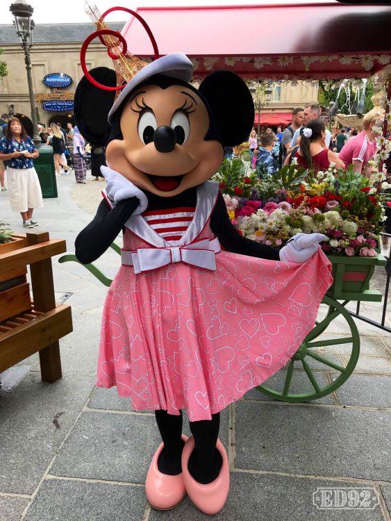 Parijse Minnie Mouse