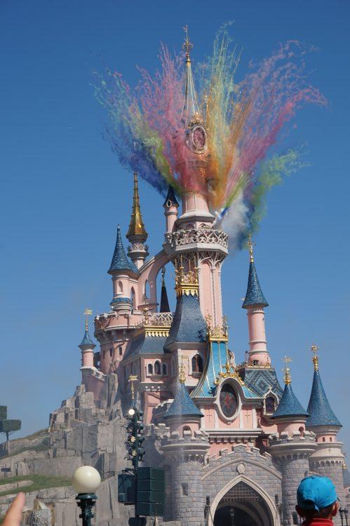 vuurwerk kasteel