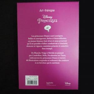 Disney kleuren voor volwassenen mini (Princesses) achterkant