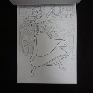 Disney kleuren voor volwassenen mini (Princesses) binnenkant 3
