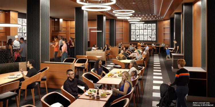 Hotel New York restaurant