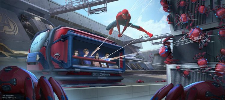 Spiderman attractie
