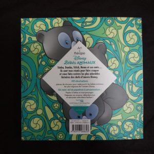 Disney kleuren voor volwassenen compact (Baby Dieren) achterkant