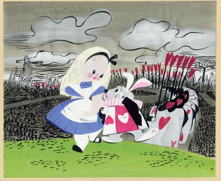 Mary Blair's Alice in Wonderland