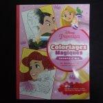 Disney kleuren op nummer Prinsessen (Junior Misleiding)
