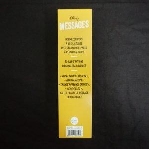 Disney kleuren voor volwassenen boekenlegger (Quotes) achterkant