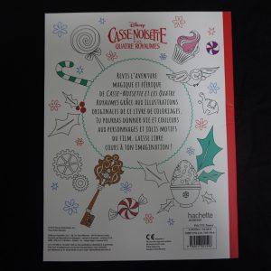 Disney kleurboek Notenkraker (Junior) achterkant