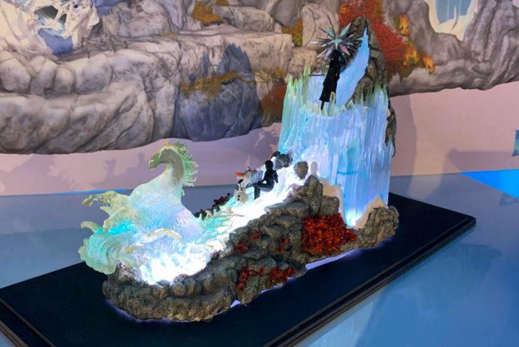 Frozen celebration wagen