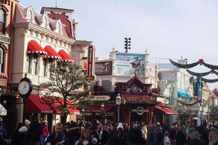 Main Street versieringen