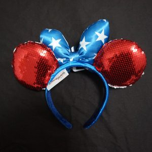 Disneyland Paris Minnie oren (American) achterkant