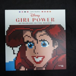Disney kleuren op nummer vierkant (Girl Power)