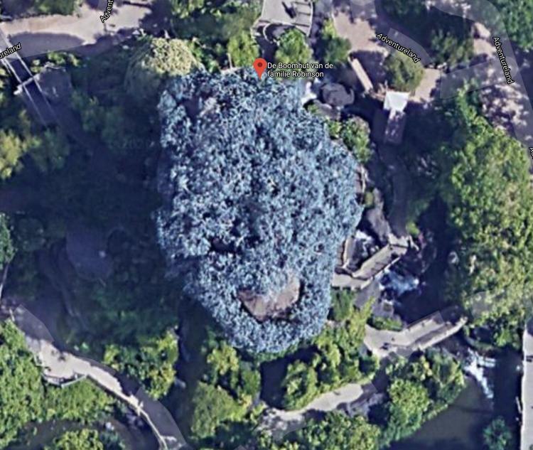 La Cabane des Robinson maps