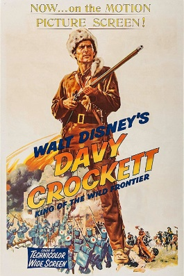 Davy Crockett king of the wild frontier