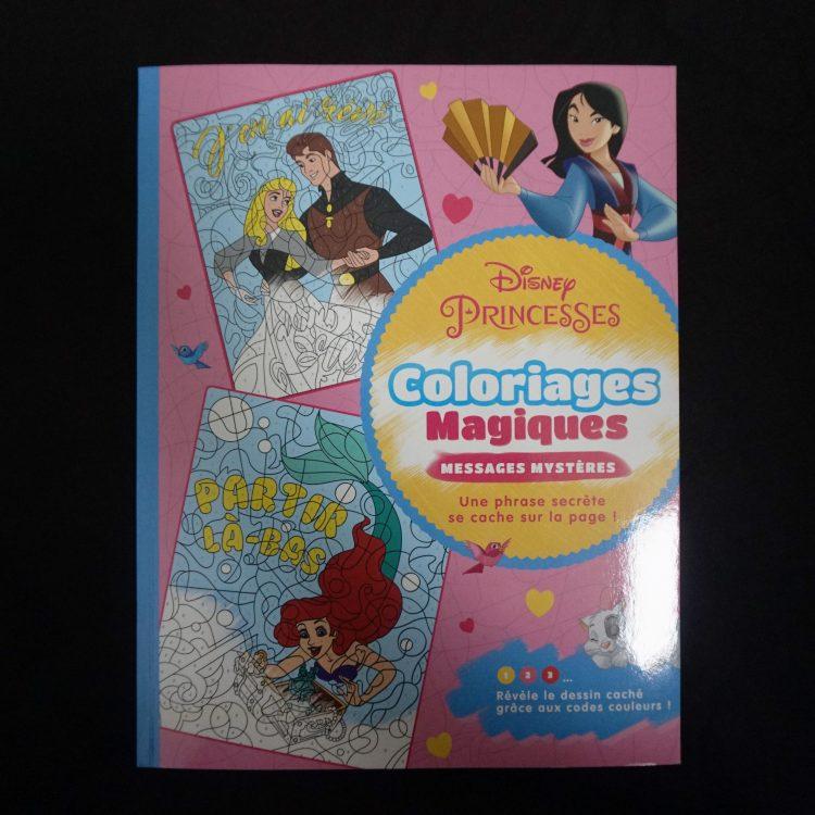 Disney kleuren op nummer Prinsessen Message (Junior)