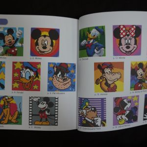 Disney kleuren op nummer vierkant (Mickey & Friends) binnenkant 2