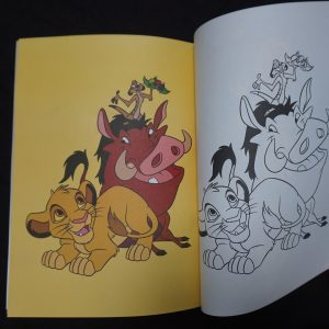 Disney kleurboek Super Colos binnenkant 1