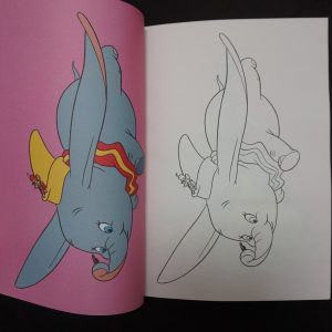 Disney kleurboek Super Colos binnenkant 3