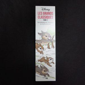 Disney kleuren voor volwassenen boekenlegger (Klassiekers deel 2)