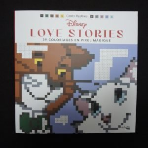 Disney kleuren op nummer vierkant (Love Stories)