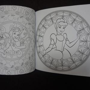 Disney kleuren voor volwassenen compact (Princess) binnenkant 3