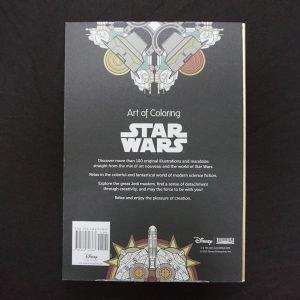 Disney kleuren voor volwassenen (Star Wars) achterkant