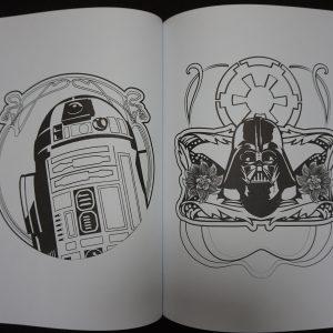 Disney kleuren voor volwassenen (Star Wars) binnenkant 2
