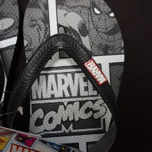 Marvel slippers close