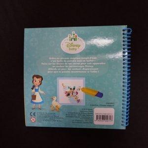 Disney magisch waterkleurboek achterkant