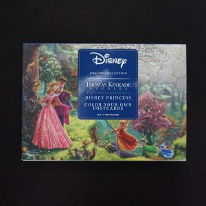 Thomas Kinkade Disney kleuransichtkaarten
