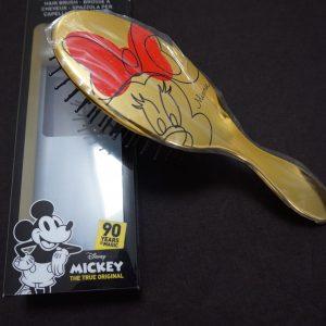 Gouden Minnie Mouse haarborstel