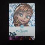 Disney kleuren voor volwassenen blok (Portretten deel 2)