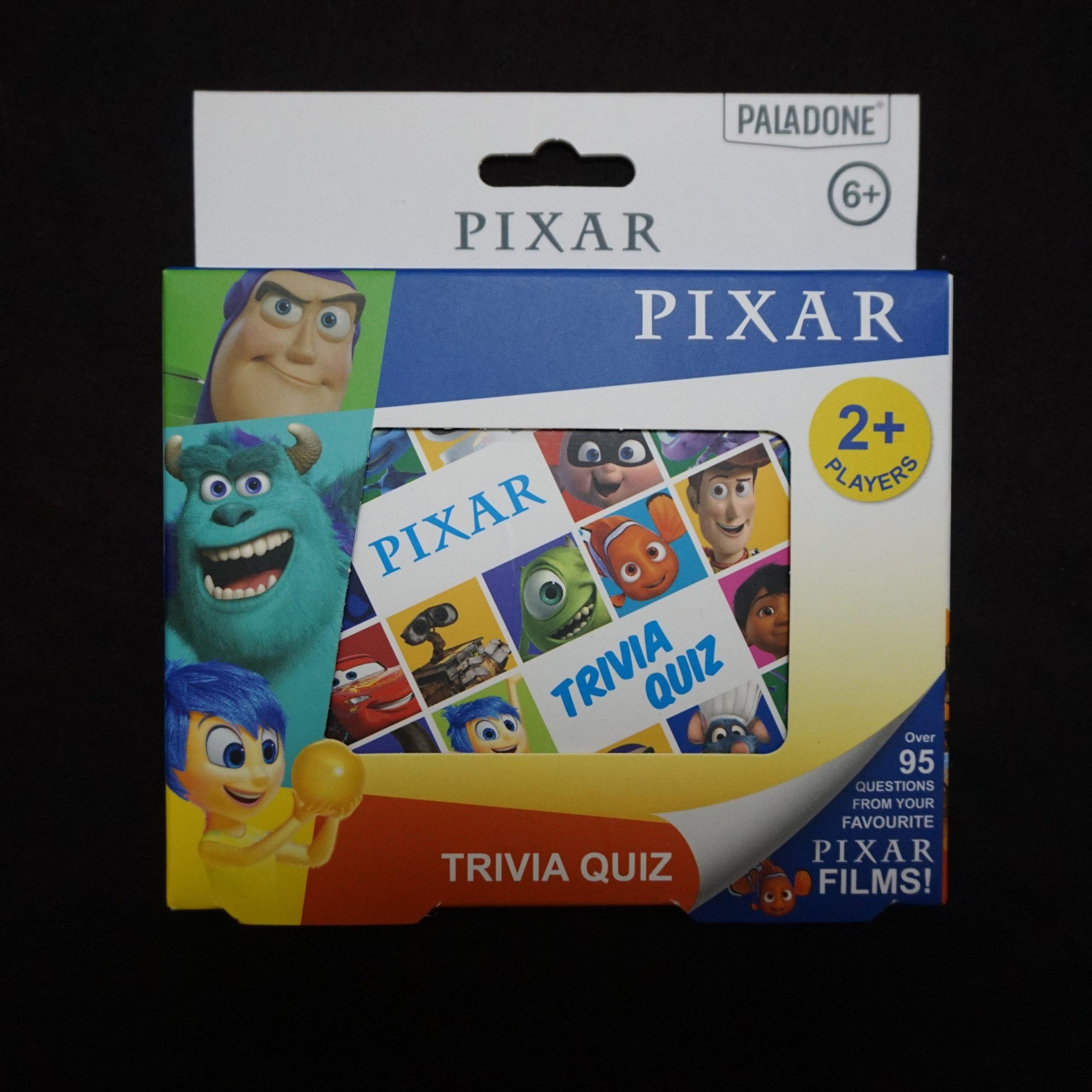Disney Pixar Trivia Game