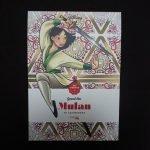 Disney kleuren voor volwassenen blok (Mulan)
