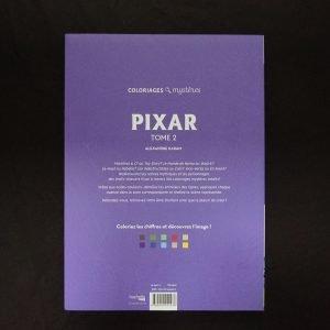 Disney kleuren op nummer Pixar deel 2