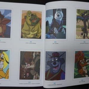 Disney kleuren op nummer (Honden)