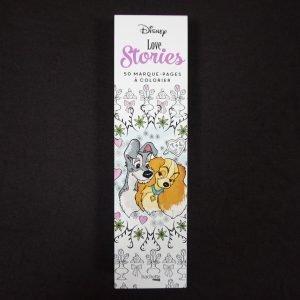 Disney kleuren voor volwassenen boekenlegger (Love Stories)