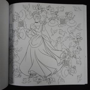 Disney kleuren voor volwassenen mandala's (groot)