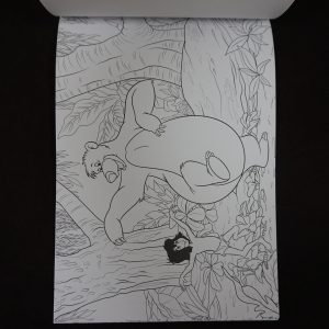 Disney kleuren voor volwassenen blok (magisch bos)