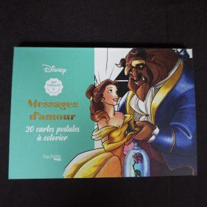 Disney kleuren voor volwassenen kaarten (liefdesverklaring)