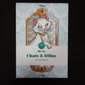 Disney kleuren voor volwassenen mini (katten)