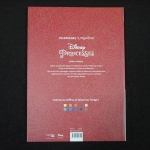 Disney kleuren op nummer (Prinsessen)
