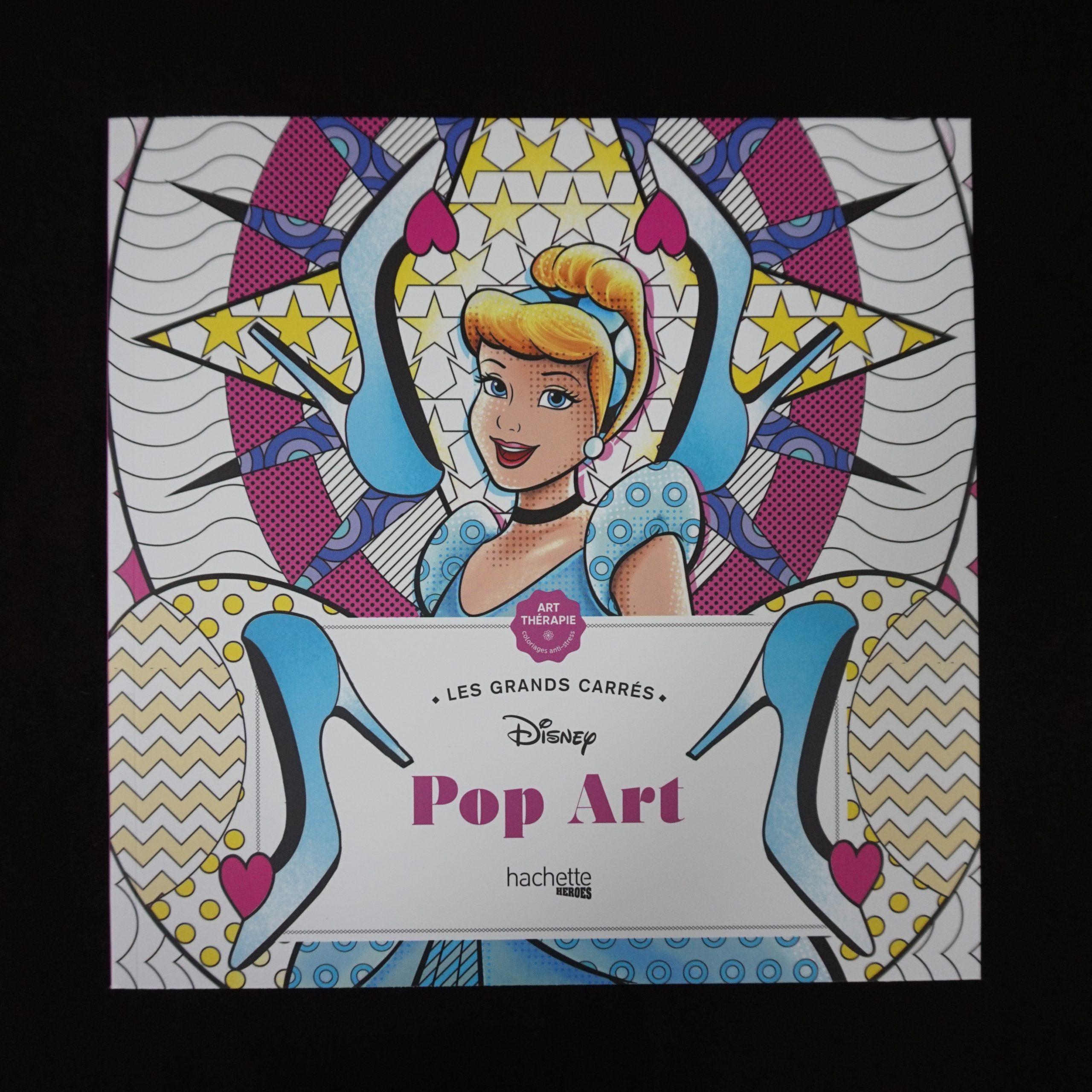 Disney kleuren voor volwassenen Pop Art (groot)