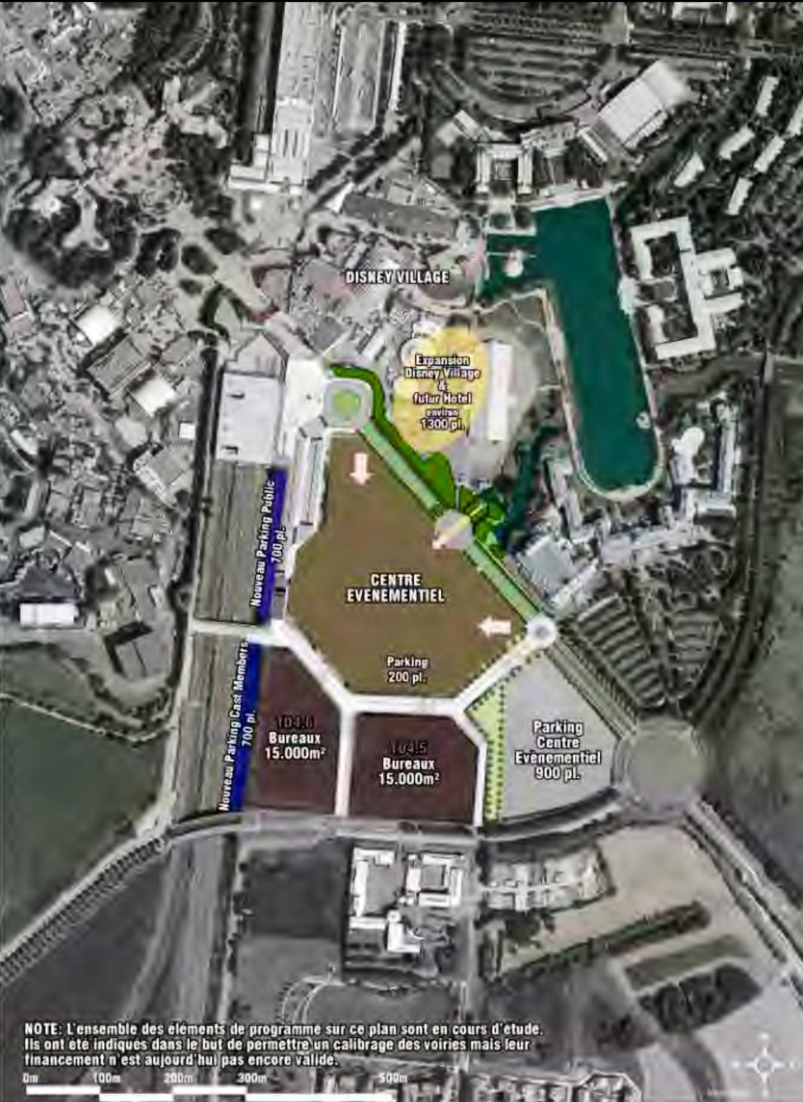 uitbreiding Disney Village