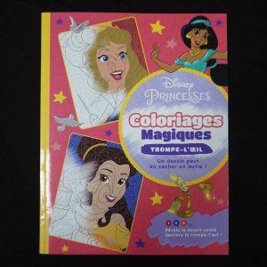 Disney kleuren op nummer misleiding (Prinsessen Junior)