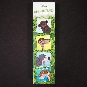 Disney kleuren voor volwassenen boekenlegger (portretten)