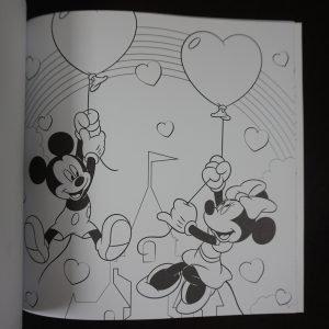 Disney kleuren voor volwassenen Feest (groot)